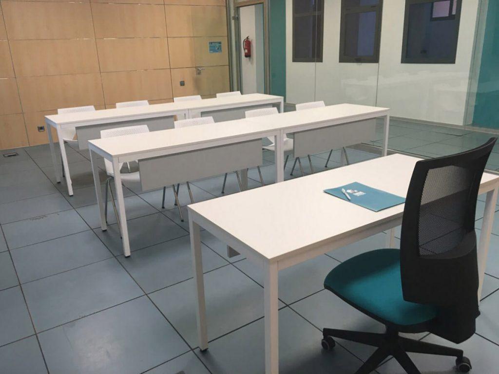 Alquiler de salas de formación en Sevilla en un centro de negocios