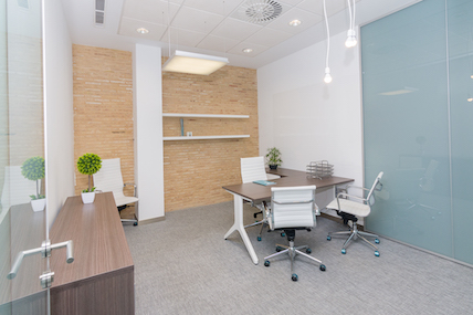 Despacho 4 puestos INN Offices Estadio olímpico de Sevilla centro de negocios