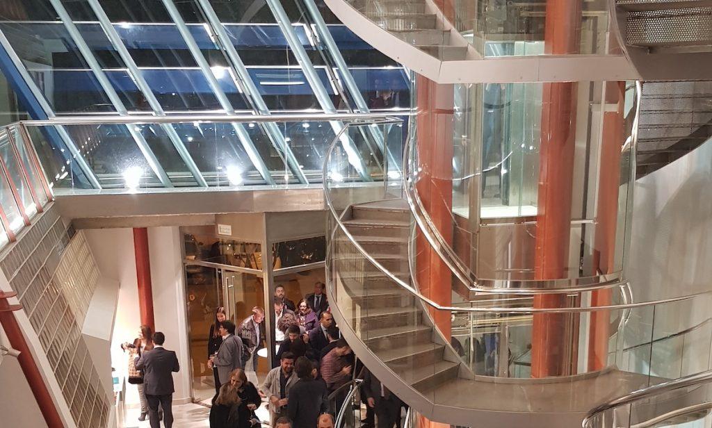 Edificio INN Offices centro de negocios de la cartuja de Sevilla inauguración