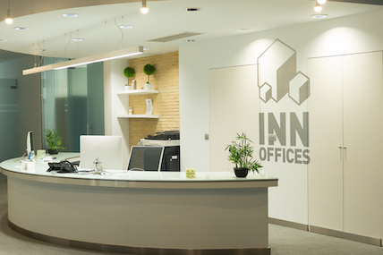 INN Offices Estadio Recepción centro de negocios