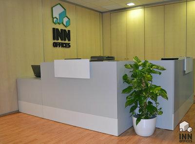 Recepción Centro de negocios Inn Offices mairena del Aljarafe