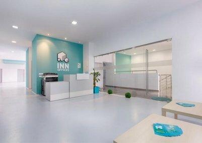 centro de negocios inn offices en Metroquinto  montequinto  en el metro de sevilla