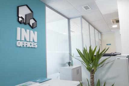 Recepción centro de negocios de Inn Offices Sevilla Centro