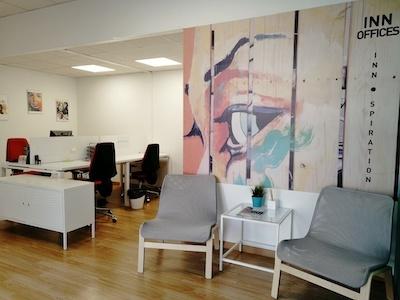 Zona Coworking Centro de negocios Inn Offices mairena del Aljarafe