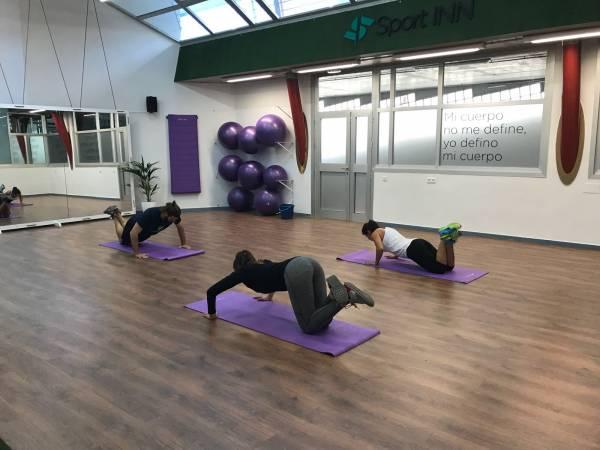 Zona de Fitness GYM centro de negocios inn oficces sevilla para clientes privados