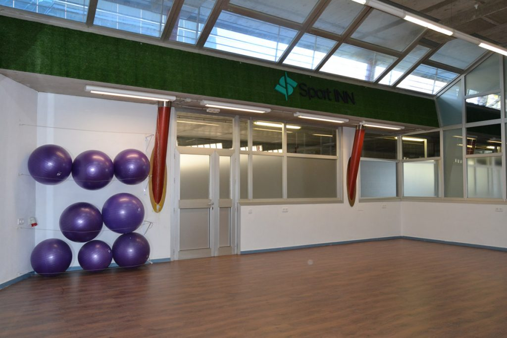 Zona de Fitness GYM centro de negocios inn oficces sevilla para de fuera