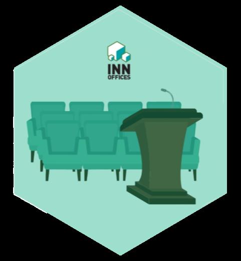 auditorio INN Offices centro de negocios icono