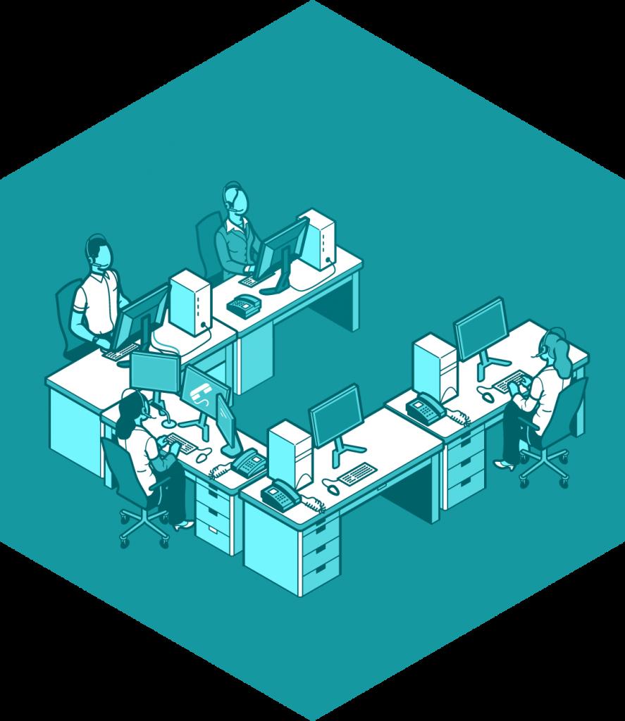 Orientacion personal y prefesonal. Icono Centro de negocios INN Offices