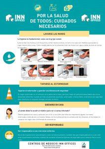 Recomendaciones para usuarios de los Cenotrs de Negocios INN Offices