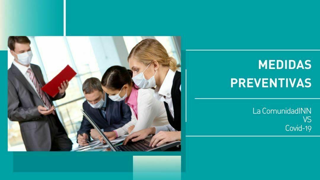 Medidas preventivas Covid19 Centro de negocios INN Offices