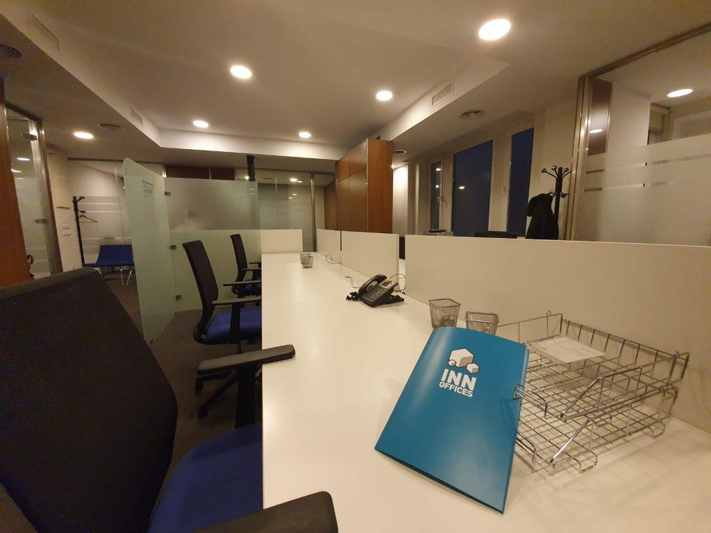 Recepción Centro de negocios Inn Offices Torre del Oro