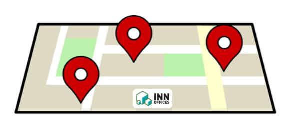 localización de centros de negocio INN Offices