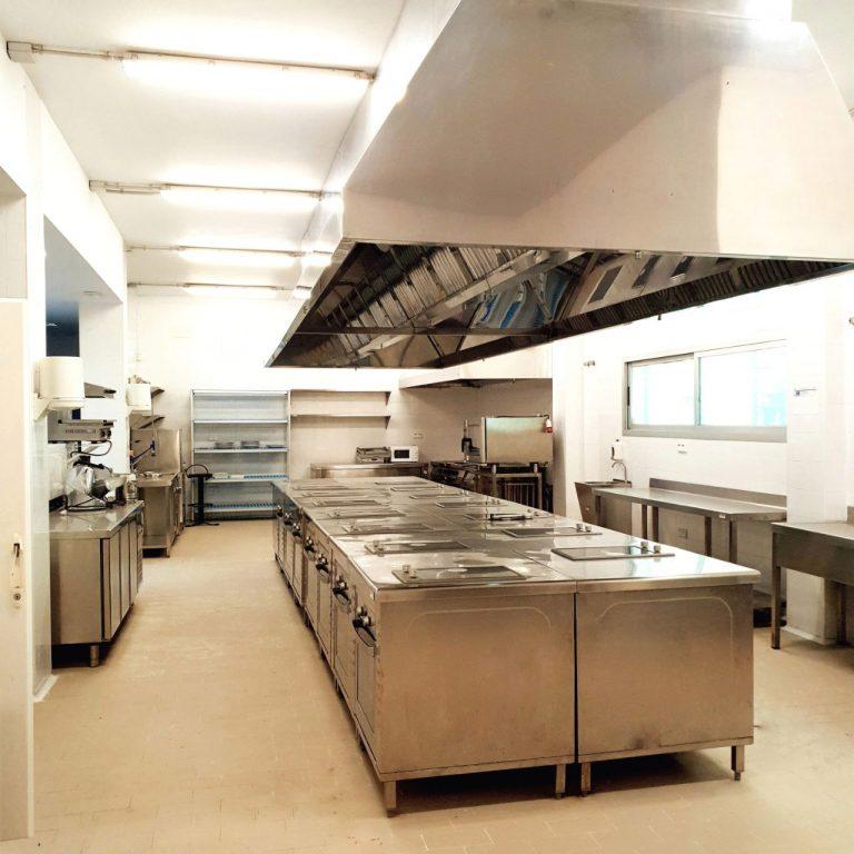 Cocina del centro de negocios La Rinconada