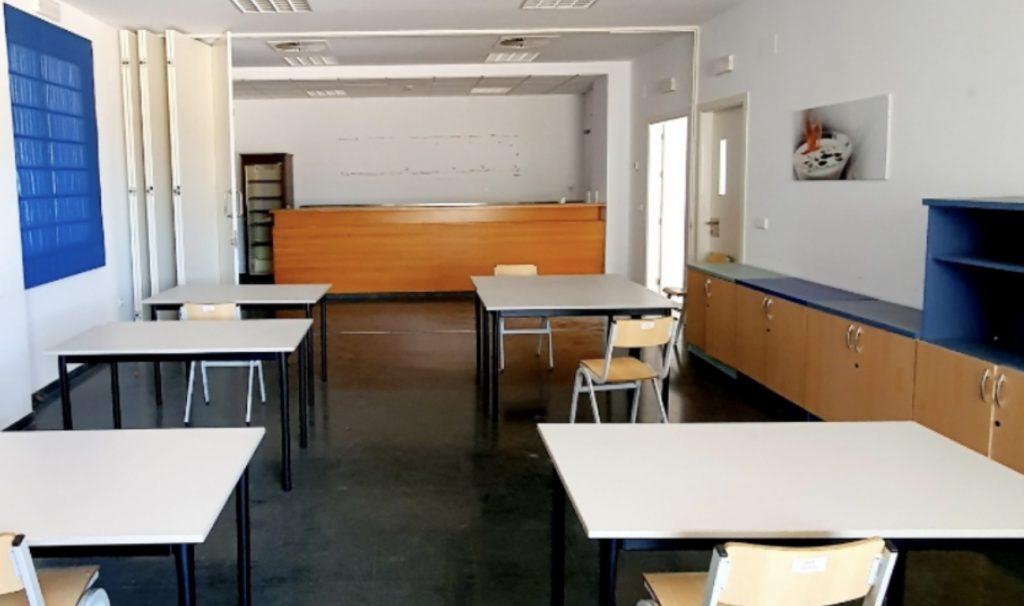 sala formación INN Offices la rinconada de Sevilla