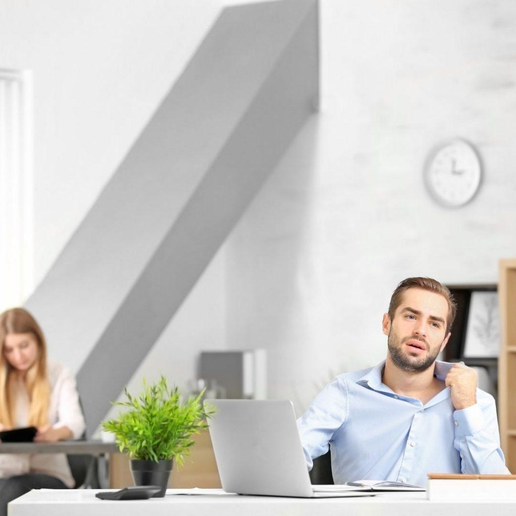 Temperatura ideal en tu oficina - INN Offices