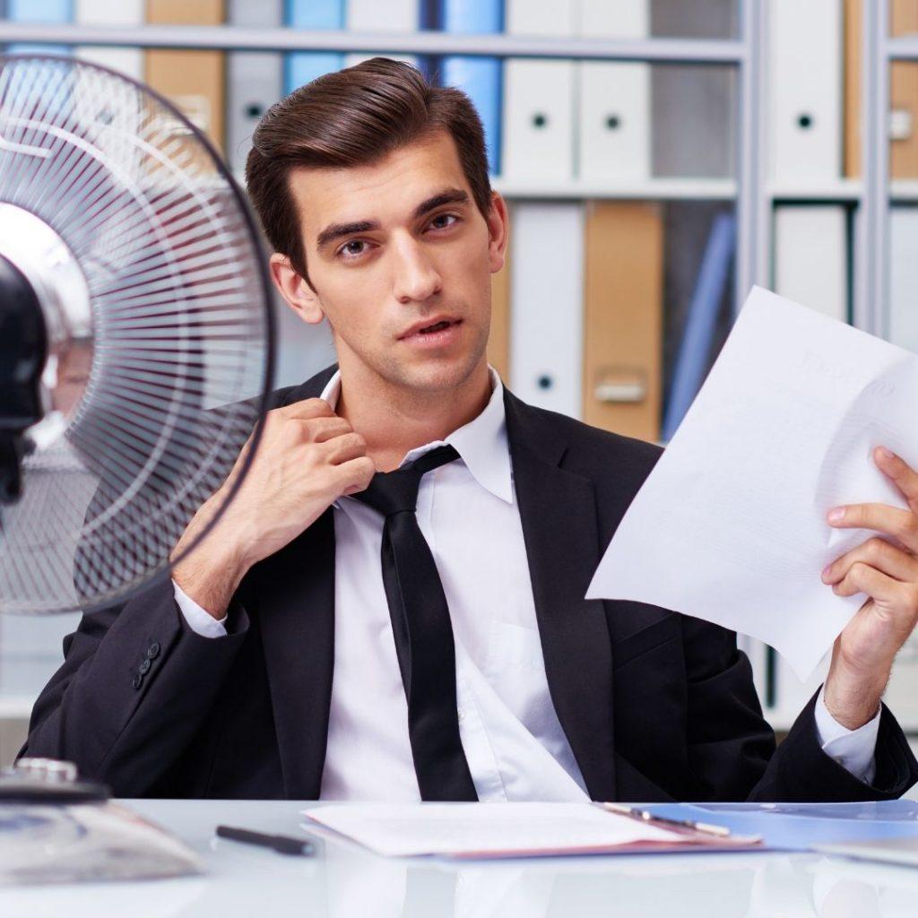 Temperatura en la oficina -INN Offices